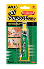 Amos All Purpose Glue 30ml for Wood, China, Fabrics, Paper, Leather, Metal Etc.