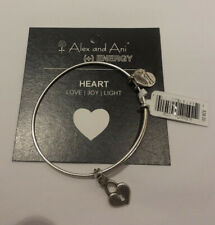 Alex and Ani Key To My Heart Silver Expandable Bracelet