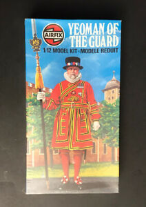 Airfix Yeoman Of The Guard 1/12 Model Kit STILL SEALED!!
