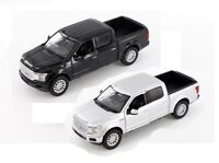 MOTORMAX 1/27 Scale 2019 Ford F-150 Limited Crew Cab Pickup Truck BLACK or Silve