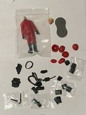 """SPECIAL RED & BLACK SOLDIER Marauder Task Force RED SHADOW 4"""" Inch Action Figure"""