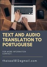 Text and Audio Translation to Portuguese / English