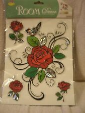 Roses and Butterfly Wall Decoration