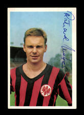 Richard Weber Eintracht Frankfurt 1965-66 Bergmann Sammelbild Original Signiert