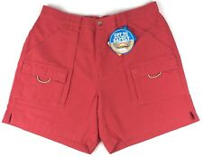 Columbia Men's Brewha Short Size Large Coral UPF 50 MSRP $40 NWT