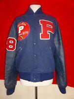 Vintage 1976 Mid State Champions Varsity Letterman Jacket P Coat sz 40