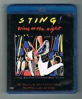 ♫ - STING - BRING ON THE NIGHT - BLU-RAY - TRÈS BON ÉTAT - ♫