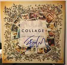 "The Chainsmokers signed Collage 12"" lp white colored vinyl"