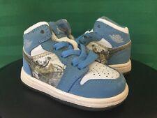 2007 Nike Air Jordan I Retro 1 ALPHA UNIVERSITY BLUE UNC sz 4c baby ovo wings xi