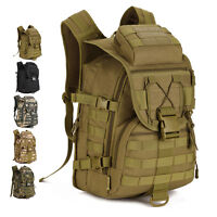 Men Nylon Tactical Military Backpack Travel Laptop Bag Shoulders Rucksack Pack
