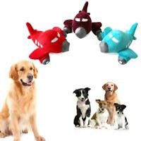Aircraft Design Pet Dog Puppy Anti Bite Chew Squeaker Squeaky Plush Sound Toys