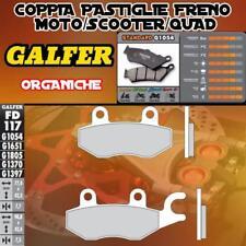 FD117G1054 PASTIGLIE FRENO GALFER ORGANICHE POSTERIORI CPI XS 250 QUAD 06-