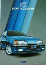Ford RS Sport Accessories Brochure - includes Capri & Granada