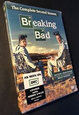 Breaking Bad: The Complete Second Season DVD, 4-Disc Set BONUS FEATURES 2010 NEW