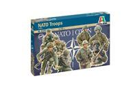 Italeri 1:72 - 6191, Figuren Nato Truppen, Modellbausatz unbemalt,Plastikmodellb