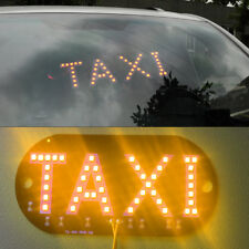 Yellow DC 12V 45 LED Car Taxi Cab Roof Light Vehicle Sign Inside Windscreen Lamp