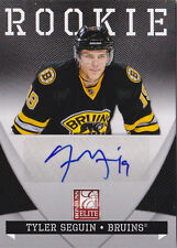 10-11 Donruss Elite Tyler Seguin /99 Auto Rookie Bruins Zenith 2010