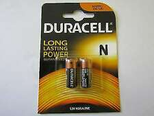 Duracell MN9100 LR1 Alkaline N Batteries - Pack of 2
