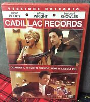 Cadillac Records DVD Rent Nuovo Sigillato adrien Brody Beyonce Knowles Wright