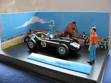 1/43 Michel Vaillant mystere with 2 figure set diecast