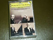 HOROWITZ THE POET<>VARIOUS COMPOSERS°  Audio Cassette ~-Canada Tape * G4 35025