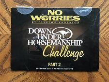 Clinton Anderson Downunder Horsemanship Challenge Part 2 Horse Training DVD