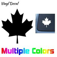 Canada Maple Leaf Decal Car Window Door Bumper Vinyl Sticker Flag