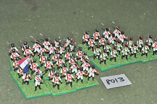 20mm napoleonic french infantry plastic 55 figures (8013) painted