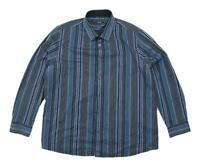 George Mens Size XL Cotton Blend Striped Multi-Coloured Casual Shirt