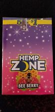15 Pack Hemp Zone Bee Berry-75 Wraps Rillo Size with Free Tube & Scoop Card