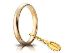 Ehering Vicenza (18K) 3 mm breit 3,94 Gramm 750er Gelbgold klassischer Trauring