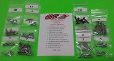 1965 FORD MUSTANG FASTBACK INTERIOR SCREW KIT   101pcs.