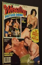 Sports Review Series Wrestling Picture Book Magazine Spring 1979