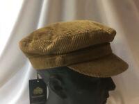 Cord Mariner Cap 100% Fawn Cotton. Same pattern as worn by John Lennon S,M,L& XL