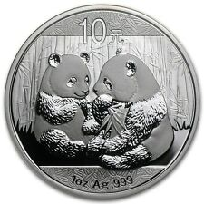 2009 Chinese Panda 1 oz Silver Coin BU Condition