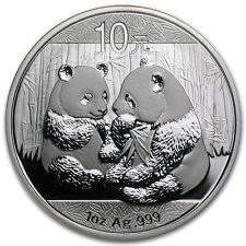 2009 Chinese Panda 1 oz Silver Coin BU Condition