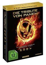 Die Tribute von Panem Teil 1 + 2 + 3 + 4 [4x DVD] *NEU* DEUTSCH Alle 4 Filme