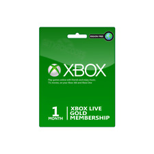 1 Month (2x14 Day) Xbox Live Gold Subscription Global Xbox 360 Xbox One