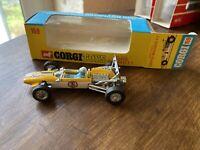 CORGI TOYS #159 COOPER MASERATI F1 RACING CAR DRIVER STEERED MINT CONDITION.