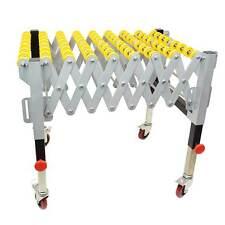 "Flexible Gravity Skatewheel Conveyors 300 lbs capacity 22-3/4"" wide- T1732S"