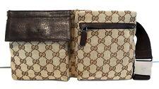 Authentic Vintage GUCCI Waist Belt Bum Bag Fanny Pack Purse Handbag UNISEX GG