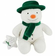 THE SNOWMAN MUSICAL SNOWMAN 28CM PLUSH SOFT TOY BRAND NEW CHRISTMAS