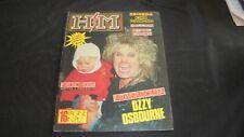 H/M rivista magazine metal #19/87 Ozzy King Diamond Rainbow Steel Crown +sticker