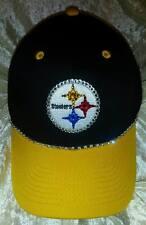 Pittsburgh Steelers Women's Rhinestone Bling Licensed NFL Cap Hat ~NEW~