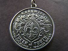 1968 Endymion GONE WITH THE WIND-CLARK GABLE Sterling Silver Mardi Gras Charm