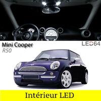 Kit 5 ampoules à LED pour l'éclairage interieur habitacle Mini Cooper R50 R53