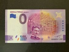 NULL-0-Euro-Souvenir-Schein 2020-1 # Nikola Tesla - Electricity #