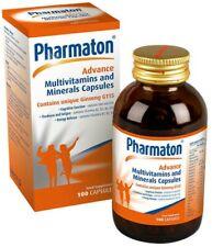Pharmaton Advance Multivitaminas Y Minerales Suplemento Alimenticio 100 cápsulas Sellado