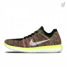 Nike Free rn Flyknit OC Ilimitado olímpico-Color Multi - 843430 - 999 UK 8.5