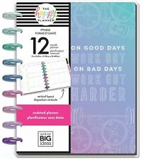 Me & My Big Ideas Classic Happy Planner Undated Fitness Plny-187